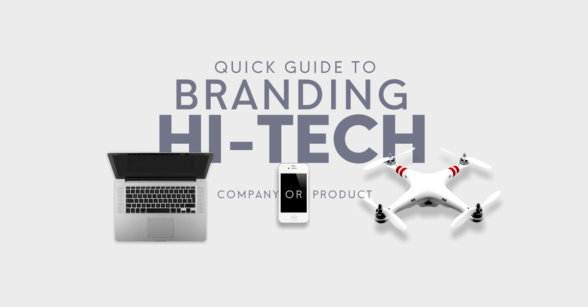 High tech business branding logo colors