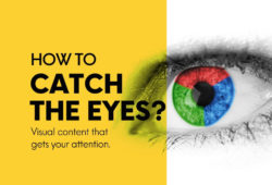 Visual content attention catch eyes advertisement attention