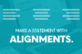 visual content alignment text communication