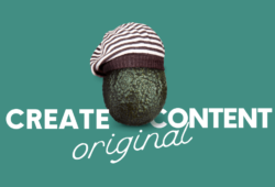 Create unique original content ideas visuals